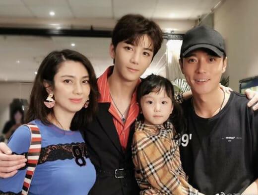 チャンダンフォン妻と子供
